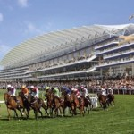 Ascot racecourse in UK