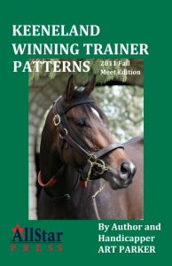 Learn the winning patterns of Keeneland trainers