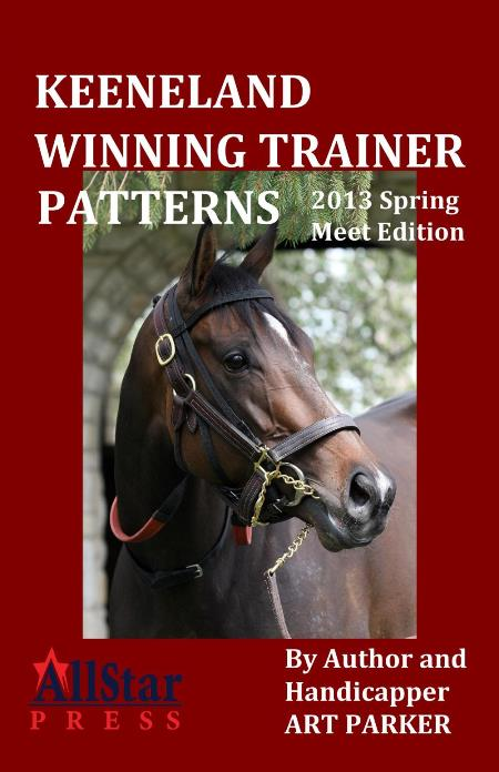 Keeneland 2013 Spring meet trainer book