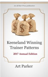 Keeneland Winning Trainer Patterns book