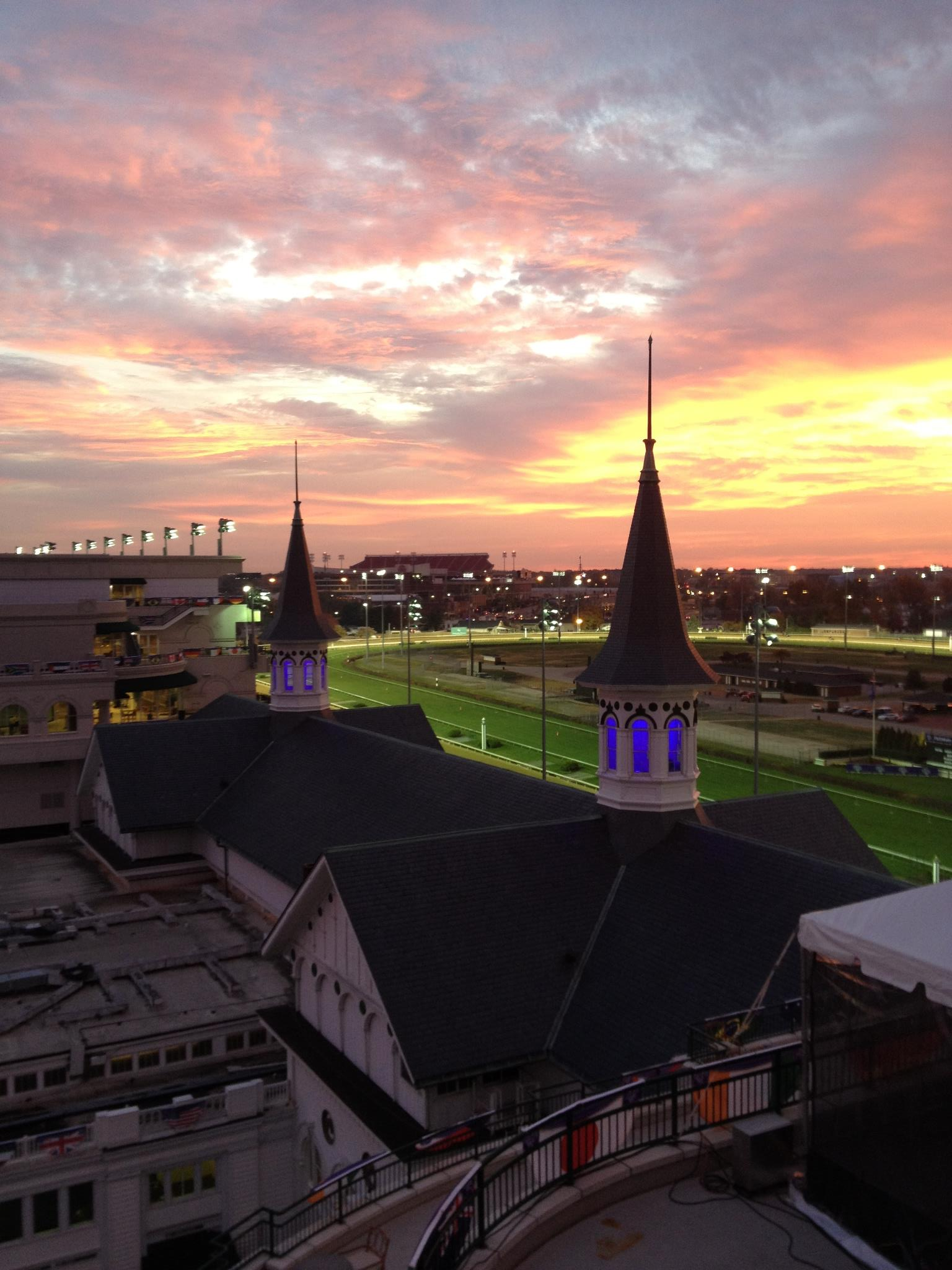 Weather forecast for Breeders' Cup