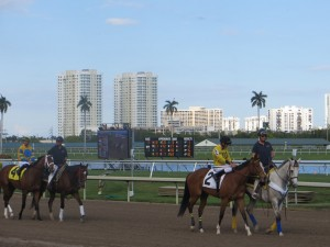 Post Parade Gulfstream Park maiden race