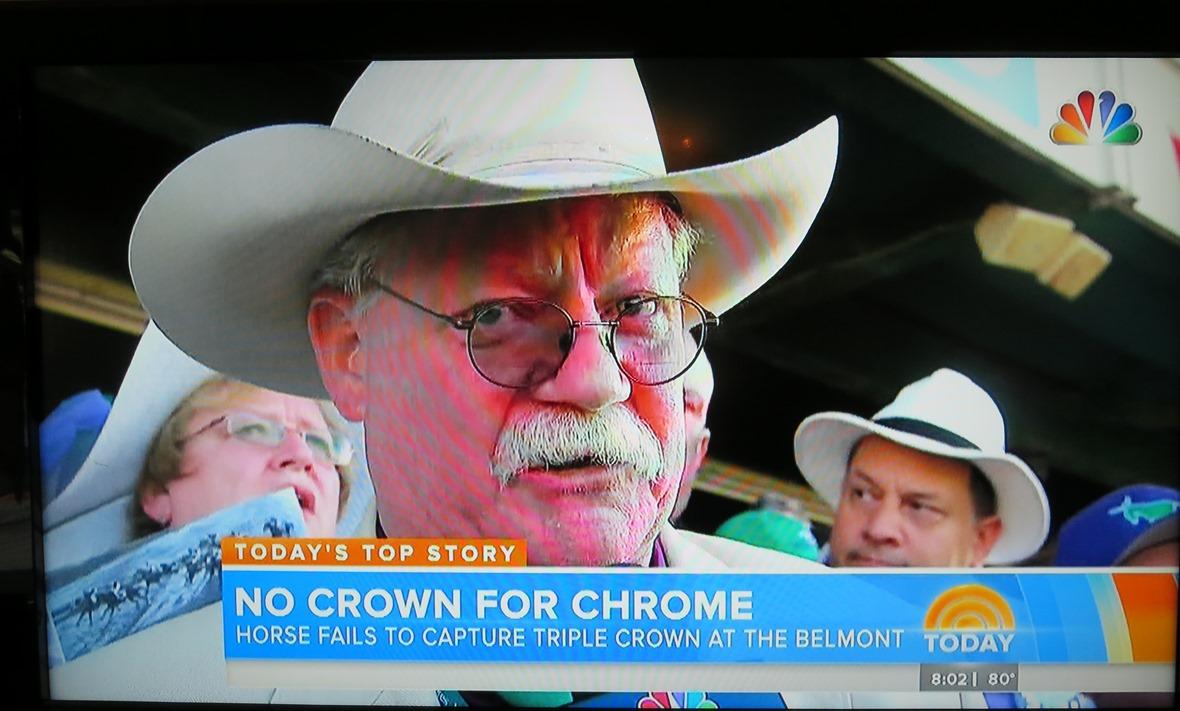 Steve Coburn post Belmont Stakes rant