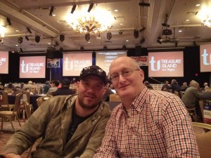 Players Brad & Howard at the 2015 NHC
