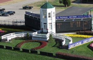Churchill winner's circle