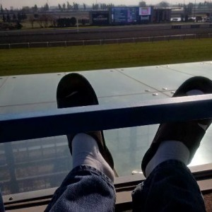 Tommy Massis relaxing back home at Woodbine