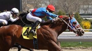 the Big A race horse
