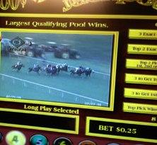 historic horse racing machine