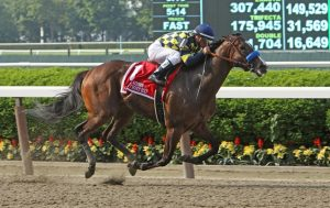 Belmont Park horse racing