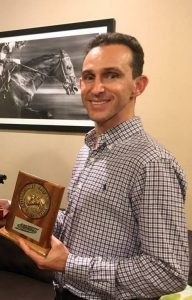 Hall of Fame rider Jockey Ramon Dominguez