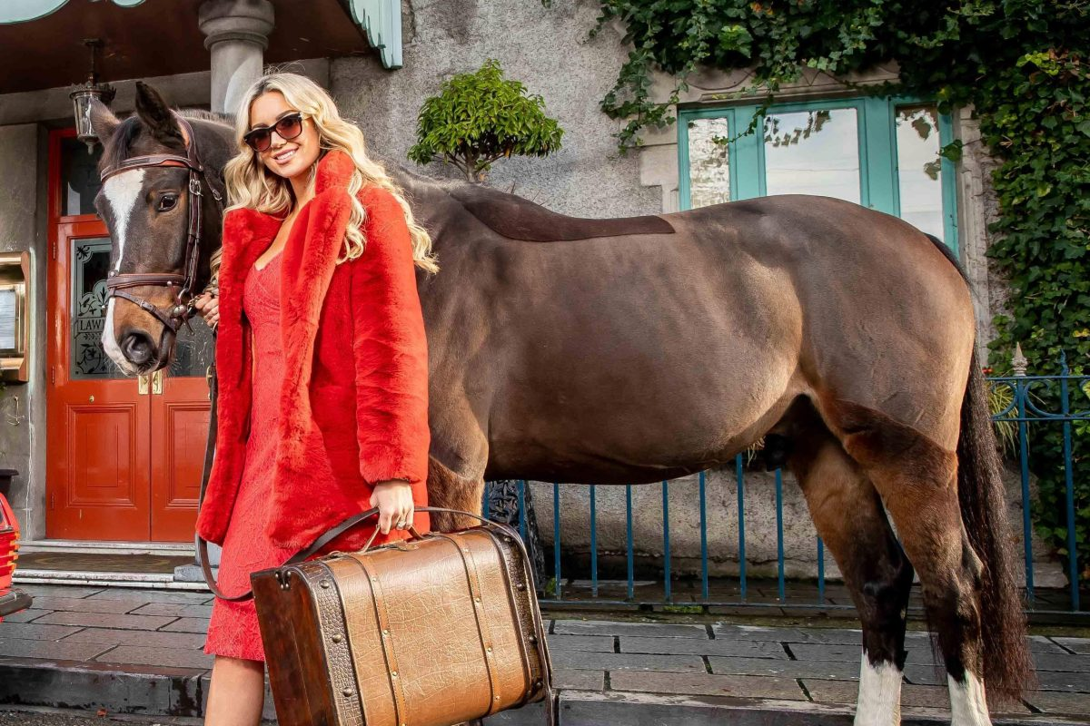Former Miss World Rosanna Davison slammed for promoting horse-racing event after fronting campaigns for animal advocacy groups