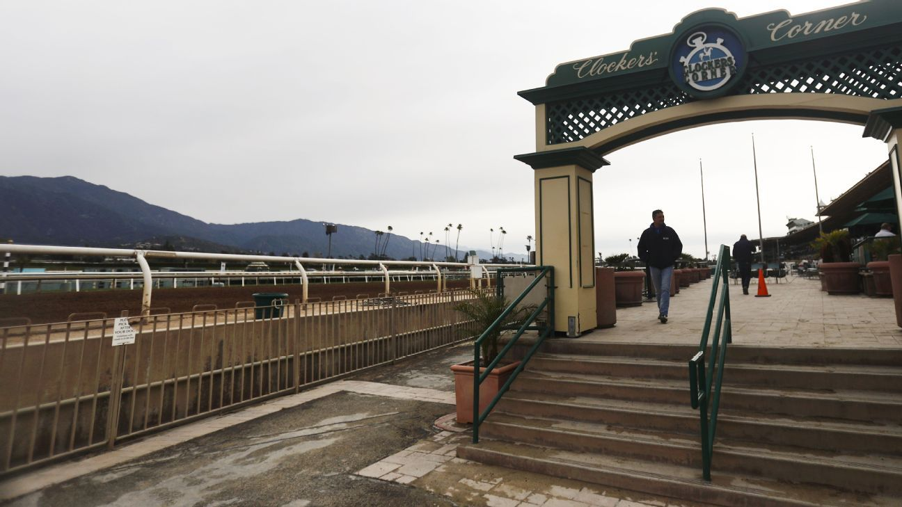 Racing at Santa Anita to resume in 'near future'