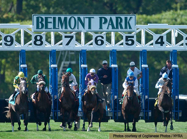 Belmont Park meets see 42% increase in avg daily handle