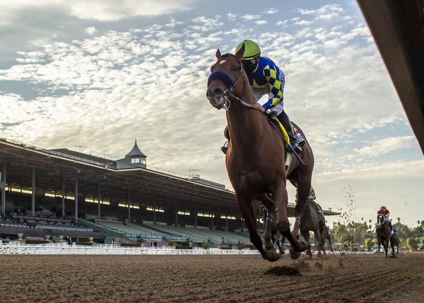Horse racing newsletter: Charlatan smokes 'em in Malibu
