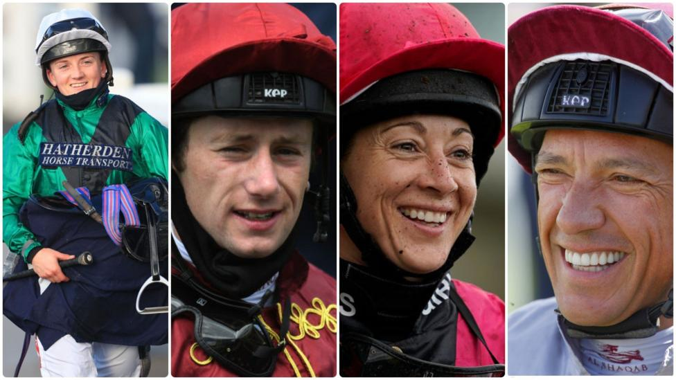 Racing League: Jockeys Frankie Dettori & Hollie Doyle join team event