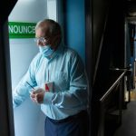 Heading to the stretch with horse racing's longest-tenured announcer